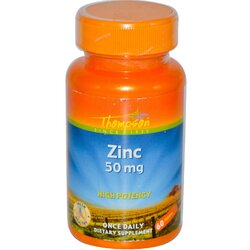 Цинк Thompson Zinc 50мг 60 таблеток