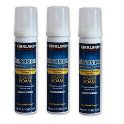 Пена Миноксидил 5% Киркланд Minoxidil Kirkland Foam 3 флакона
