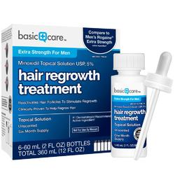 Миноксидил 5% Basic Care Minoxidil 60мл+дозатор