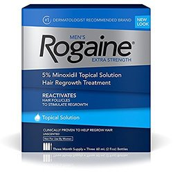 Миноксидил 5% Rogaine Регейн лосьон 3 флакона+дозатор