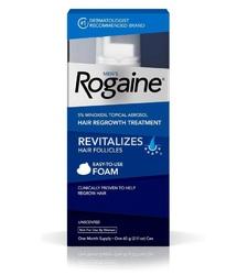 Rogaine Foam Регейн пена Миноксидил 5% флакон 60мл