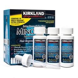 Миноксидил 5% Киркланд Kirkland Minoxidil 3 фл+дозатор